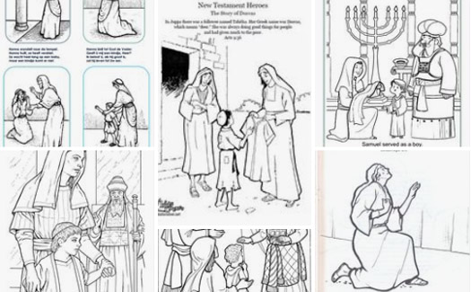 52 FREE Bible Coloring Pages for Kids from Popular Stories | 325x525