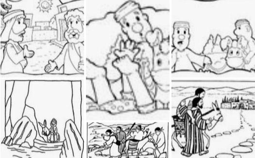 The Good Samaritan Bible Mazes: Can your kids lead the Good ... | 325x525