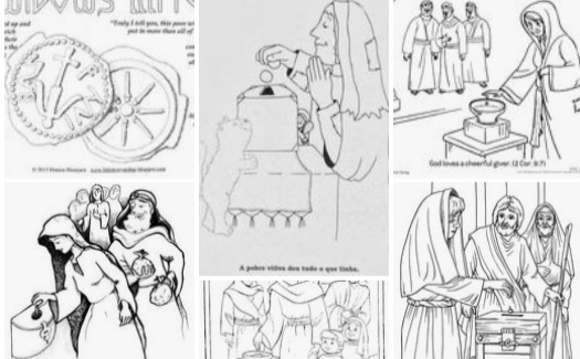 Elizabeth And Zechariah Coloring Page Bible €� Coloring Pics - Coloring Home | 325x525