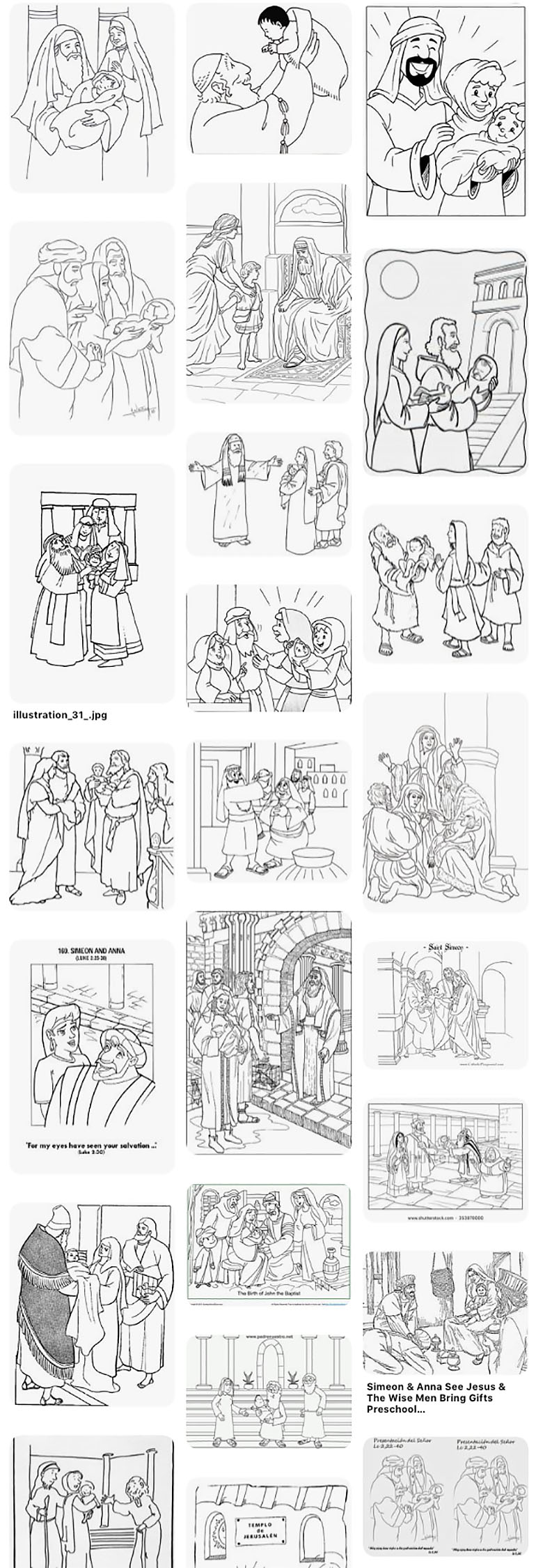 Saint Mary Magdalen Coloring Page ❤+❤ Olive Garden Jesus ... | 2250x770