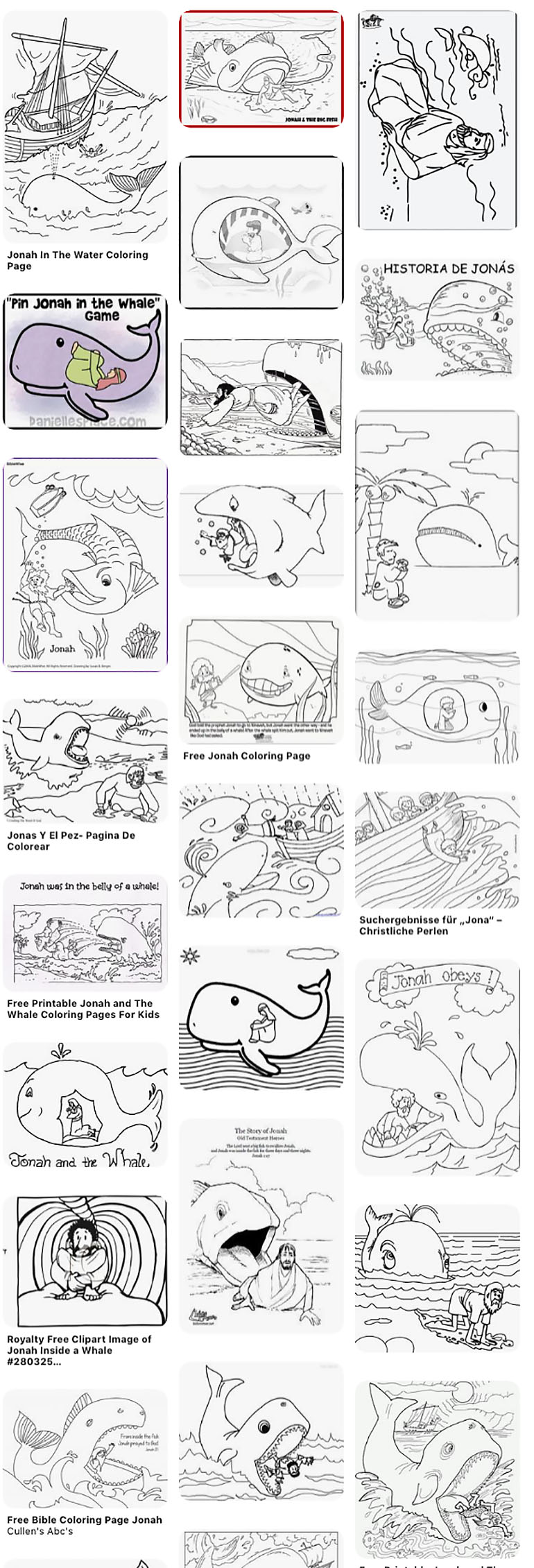 Pics Of Jonah And The Big Fish Coloring Page Whale Pages ... | 2260x770