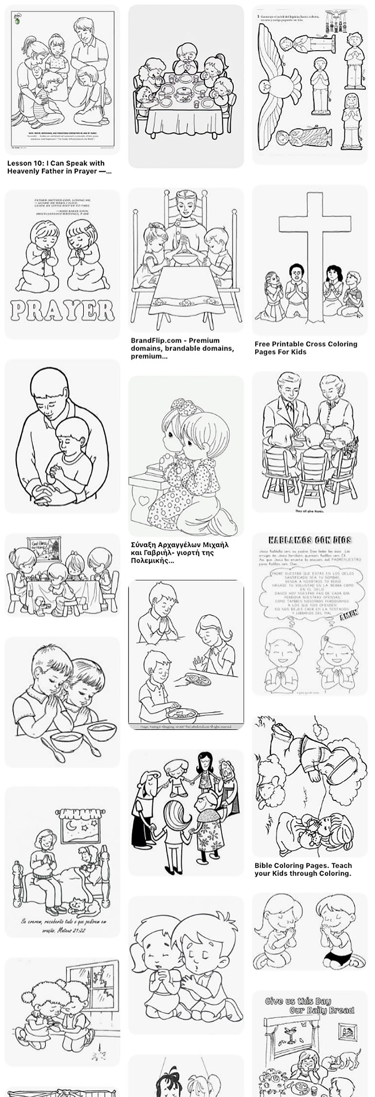 Bible Printables: Coloring Pages For Sunday School - Christianity Cove | 2252x770